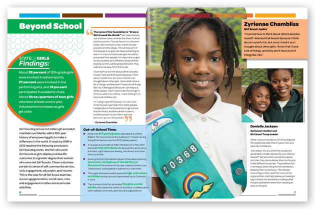 girl scouts annual report
